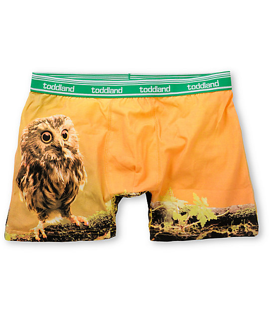 Toddland Owl Der Pants Boxer Briefs