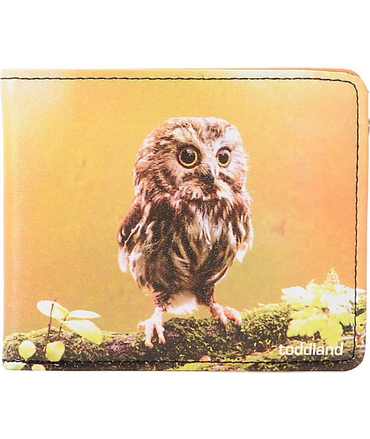 Toddland Whet Owl Bifold Wallet