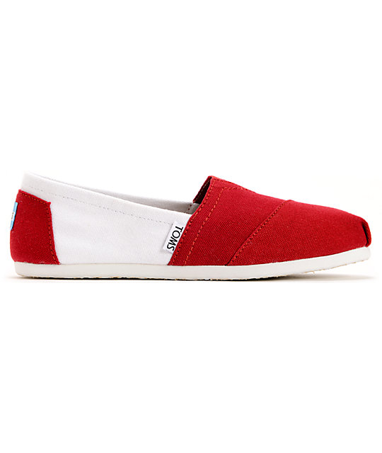 Toms Campus Classics Alabama Womens Slip On Shoes