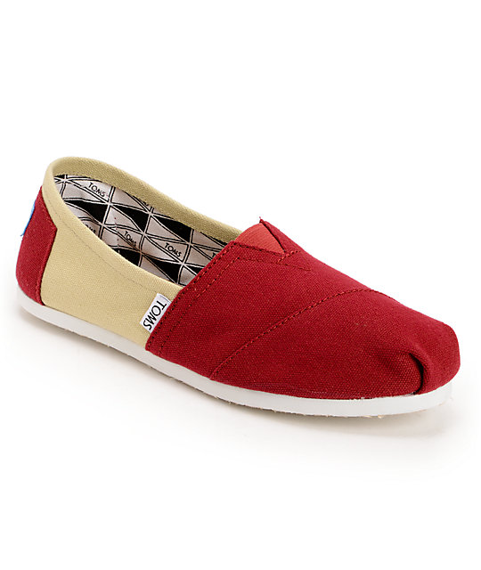 Toms Campus Classics Florida State Womens Slip On Shoes