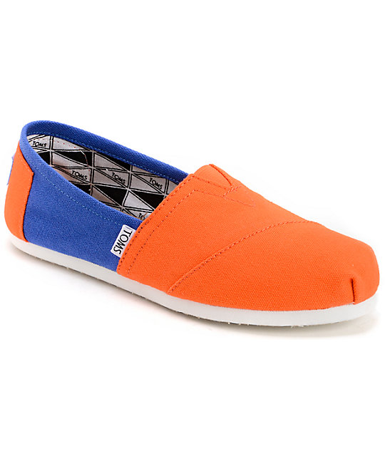 toms cus classics florida womens slip on shoes