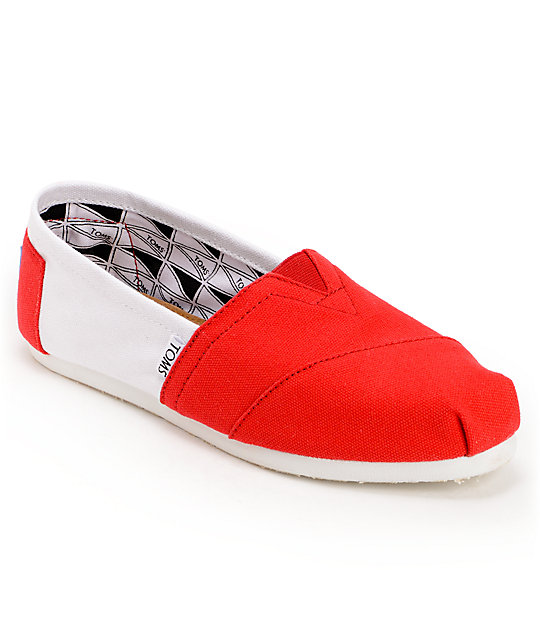 Toms Campus Classics Nebraska Womens Slip On Shoes