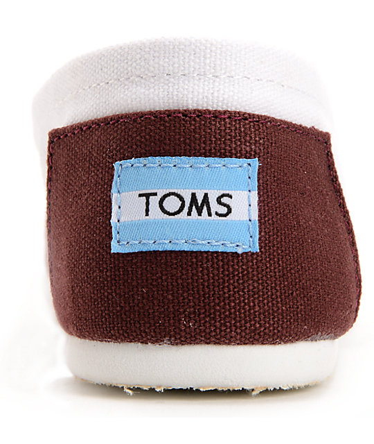 Toms Campus Classics Texas A&M Slip On Shoes