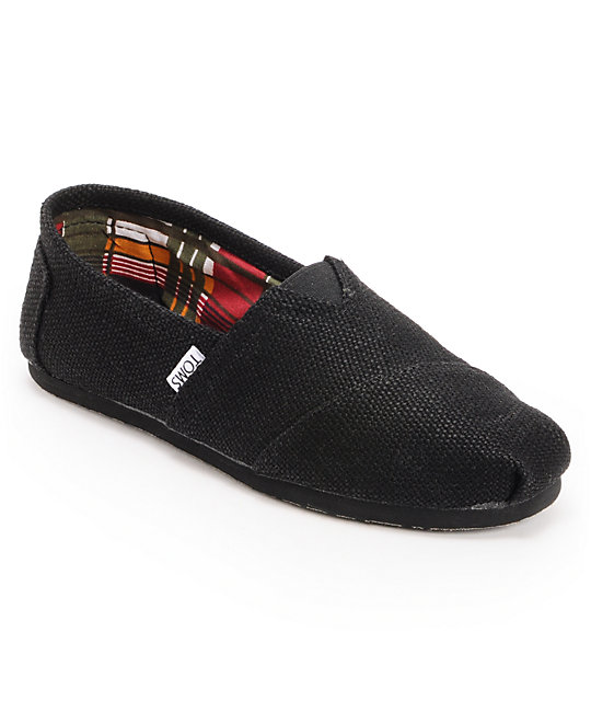 Toms Classics Burlap Mens Shoes