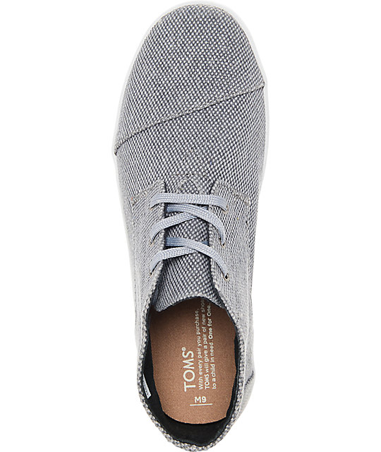 Toms Paseo Mid Castlerock Grey Shoes