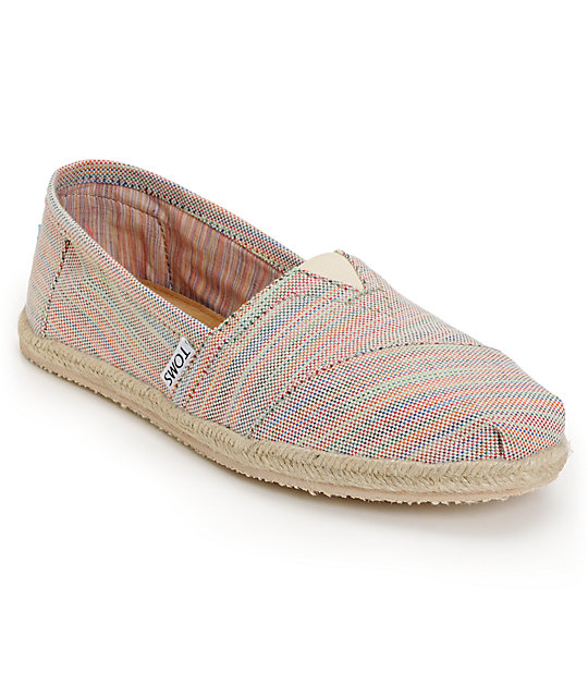 Toms Shoes Classic Baxter Slip-On Womens Shoes