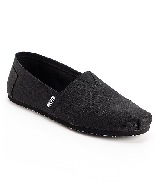 Toms Shoes Earthwise Black Vegan Mens Shoes
