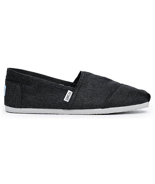 Toms Shoes Earthwise Slate Vegan Mens Shoes