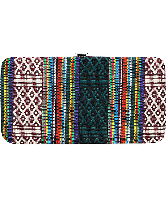 Top Choice Tribal Pattern Hinge Wallet