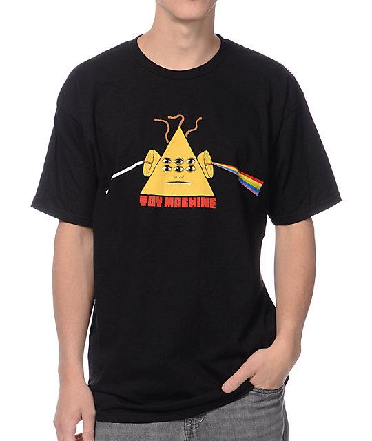 Toy Machine Darkside Black T-Shirt