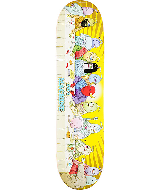 "Toy Machine Last Supper 8.0""  Skateboard Deck"