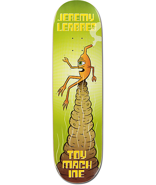 """Toy Machine Leabres Pile 8.5"""" Skateboard Deck"""