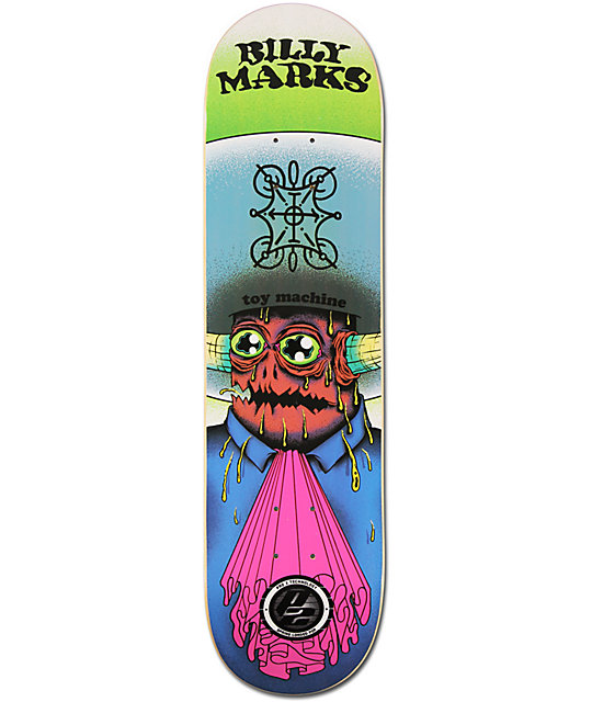 "Toy Machine Marks Amigo P2 8.0""  Skateboard Deck"