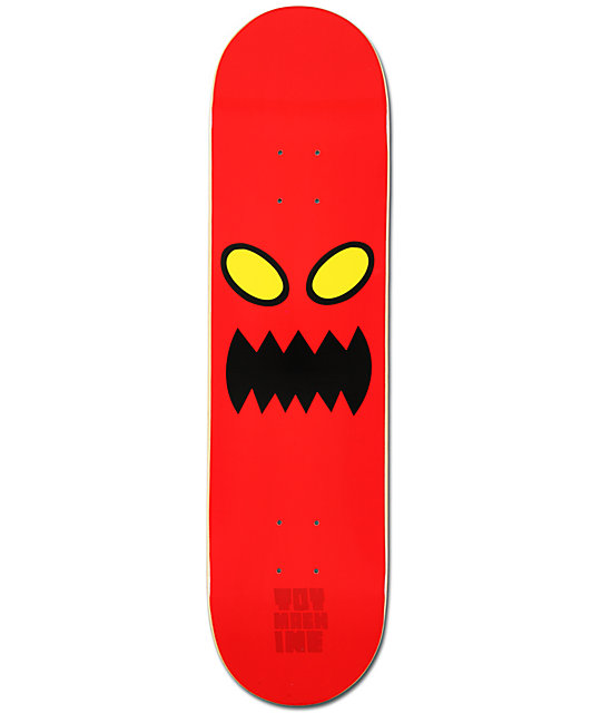 "Toy Machine Monster Face 8.0""  Skateboard Deck"