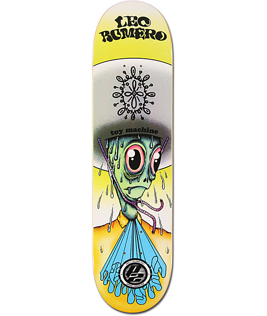 "Toy Machine Romero Amigo P2 7.875""  Skateboard Deck"