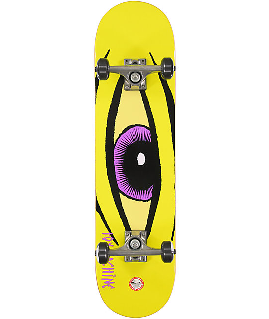 "Toy Machine Sect Eye 8""  Complete Skateboard"