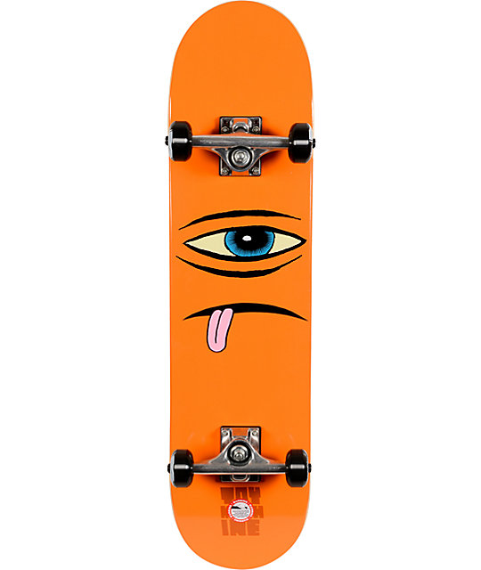 "Toy Machine Sect Face 7.875""  Complete Skateboard"