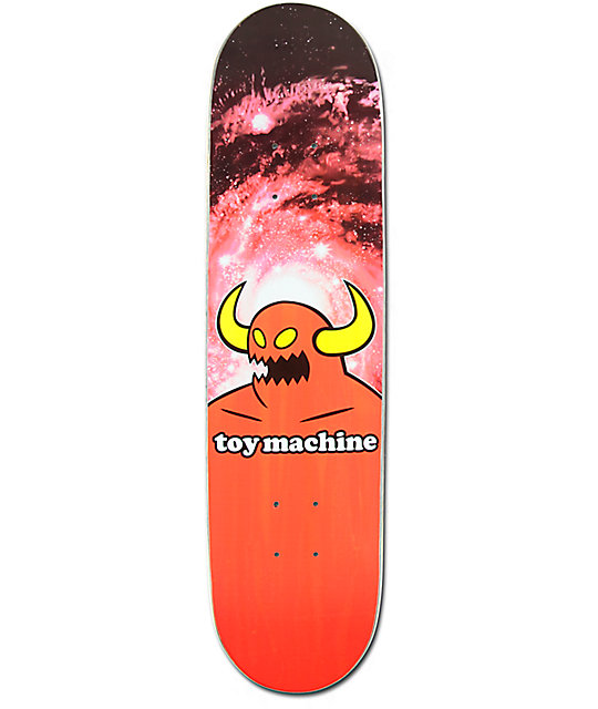 "Toy Machine Spaced Monster 7.5"" Skateboard Deck"