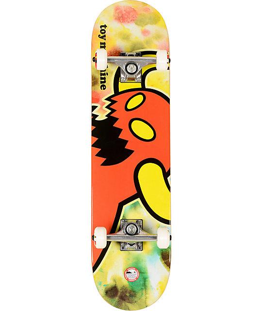 "Toy Machine Tie Dye Monster 7.875""  Complete Skateboard"