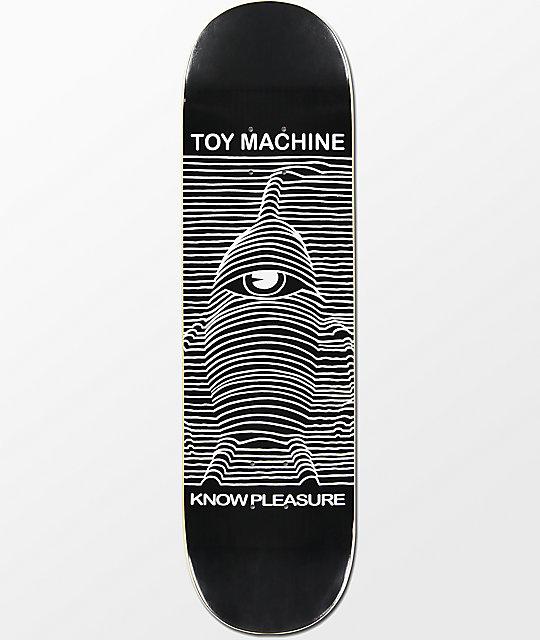 """Toy Machine Toy Division 8.5"""" Skateboard Deck"""