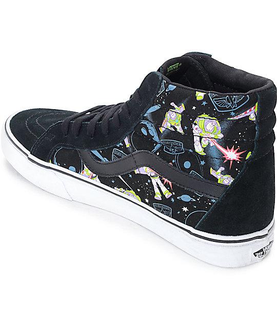 Buzz Lightyear Vans Shoes Mens