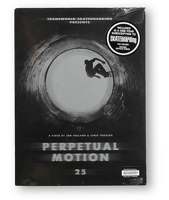Transworld Skateboarding Perpetual Motion Skateboard DVD
