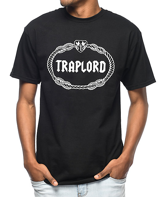 Trap Lord Crest Black T-Shirt