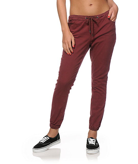 Perfect Coco Limon Pink Drawstring Joggers  Women  Zulily