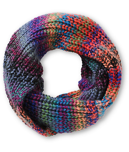 Trillium Vista Space Dye Knit Infinity Scarf At Zumiez Pdp
