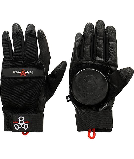 Triple Eight Downhill Longboard Slide Gloves
