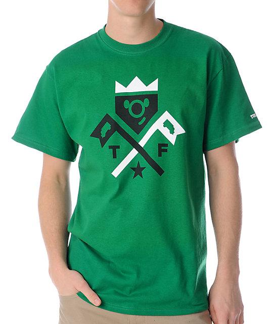 Trukfit 2 Flags Green T-Shirt