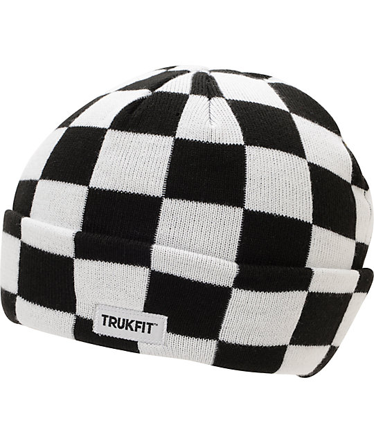Trukfit Black & White Checker Cuff - 66.0KB