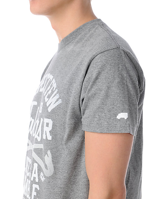 Trukfit Boosters Grey T-Shirt
