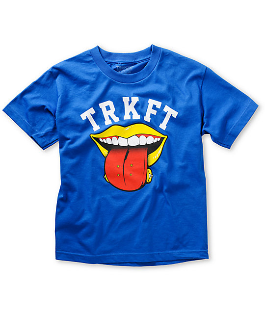 Trukfit Boys Board Lickr Royal Blue T-Shirt