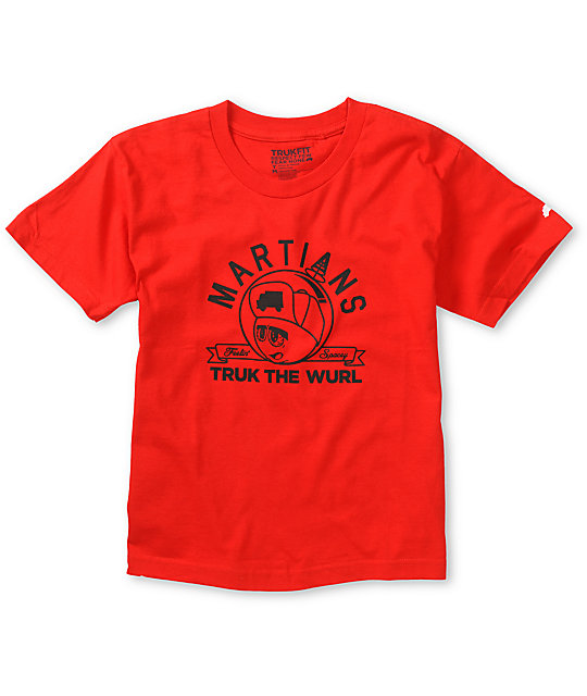 Trukfit Boys Feelin Spacey Red T-Shirt