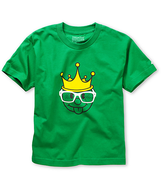 Trukfit Boys King Green T-Shirt