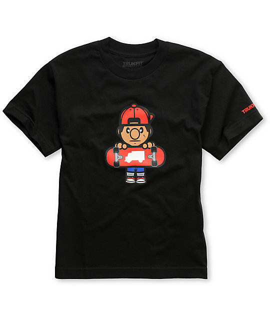 Trukfit Boys Lil Tommy Black T-Shirt