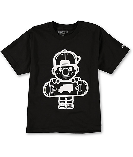 Trukfit Boys Lil Tommy Core Black T-Shirt