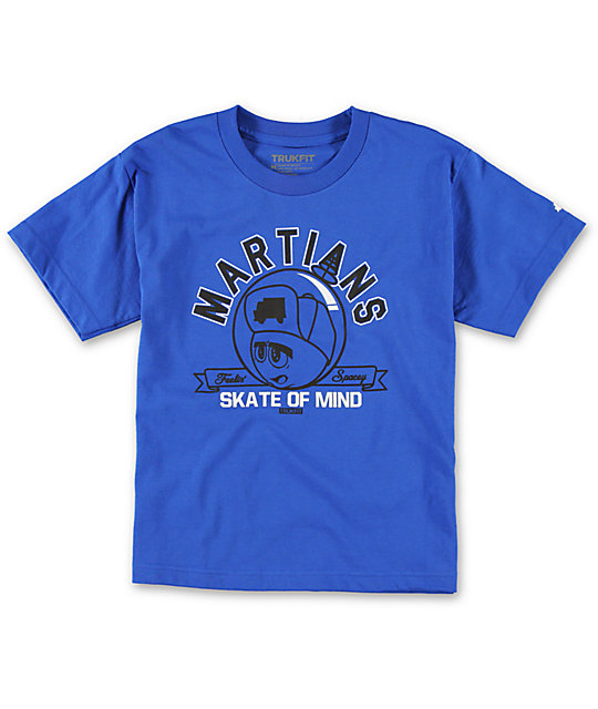 Trukfit Boys Martians Blue T-Shirt