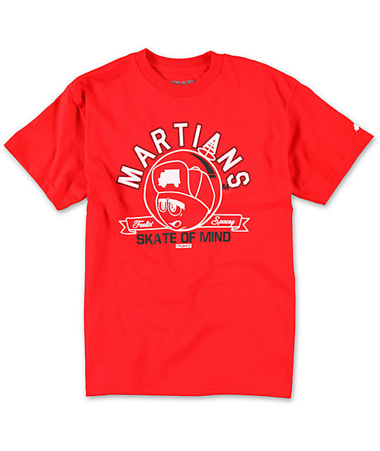 Trukfit Boys Martians Red T-Shirt