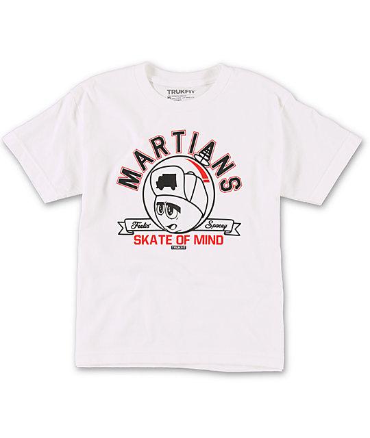 Trukfit Boys Martians White T-Shirt