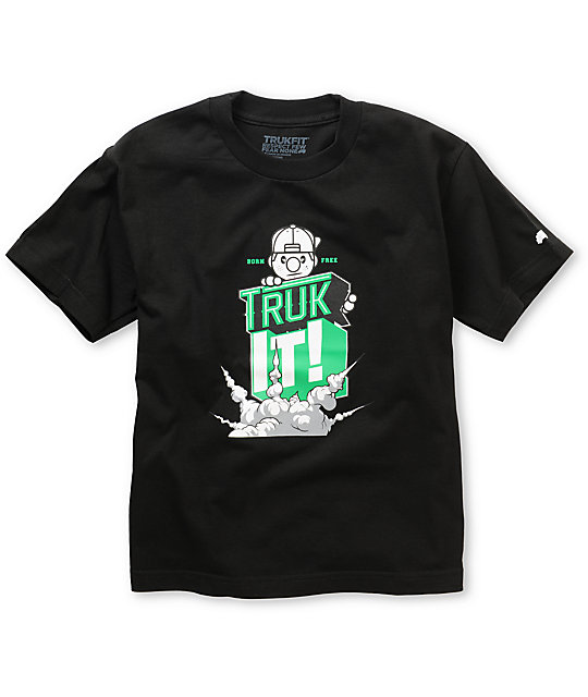 Trukfit Boys Truk It Black T-Shirt