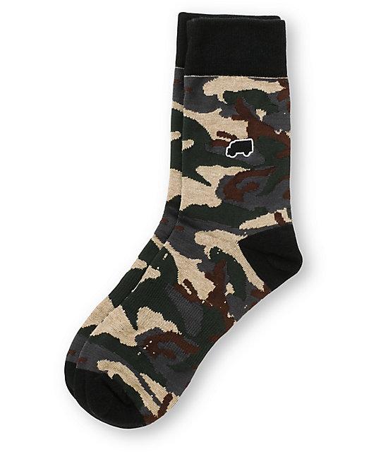 Trukfit Camouflage Crew Socks