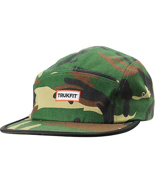 Trukfit Camper Camo 5 Panel Hat