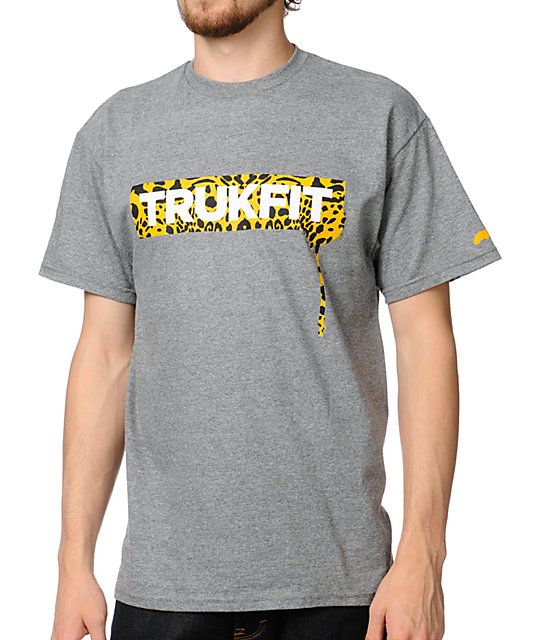 Trukfit Cheetah Gunmetal T-Shirt