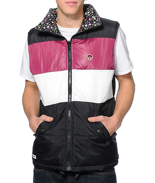 Trukfit Color Block Reversible Vest