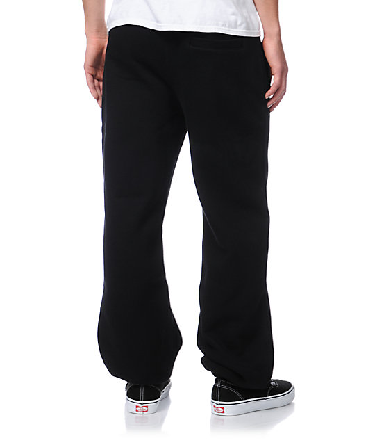 Trukfit Core Basic Black Fleece Sweatpants