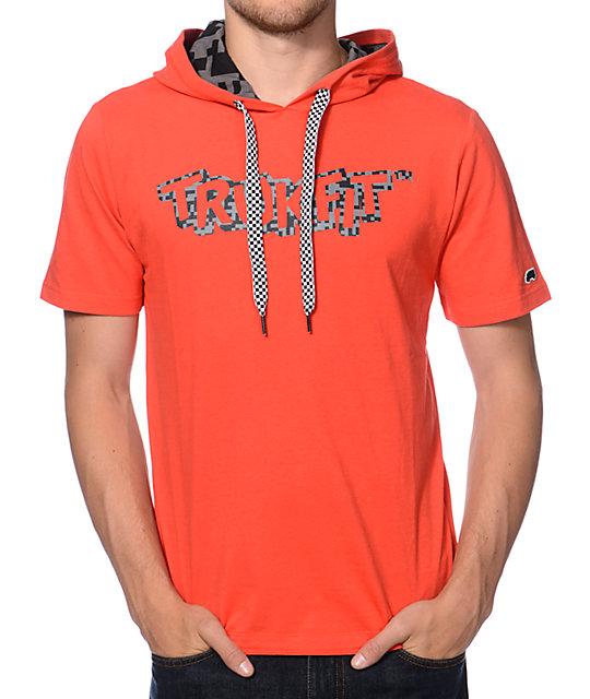 Digi Print Short Sleeve Hooded T-Shirt