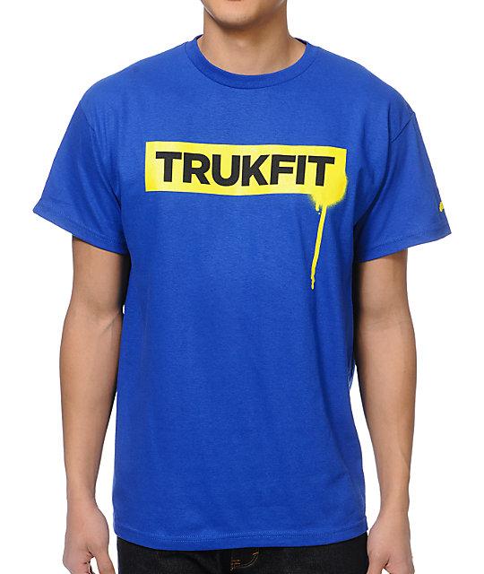 Trukfit Drip Blue T-Shirt
