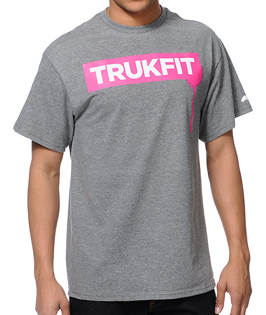 Trukfit Drip Grey T-Shirt